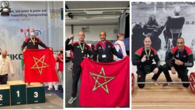 صورة البطل الطنجاوي يهدي المغرب ميدالية برونزية في بطولة العالم للقوة البدنية بالسويد