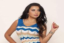 صورة النجمة اللبنانية مايا غنام تغني طلاع من راسي