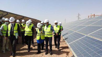 صورة المكتب الوطني للكهرباء والماء الصالح للشرب ينهي بنجاح تجارب تشغيل المحطة الشمسية الفوطوفولطية بأرفود